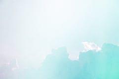 Słodka błękit chmura, niebo i Obraz Stock