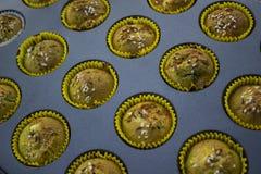 Słodka bułeczka babeczka Zdjęcia Royalty Free