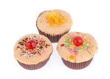 Słodka bułeczka torty Obrazy Royalty Free
