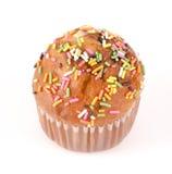 Słodka bułeczka torty Fotografia Royalty Free
