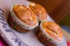 Słodka bułeczka z serem Zdjęcia Royalty Free
