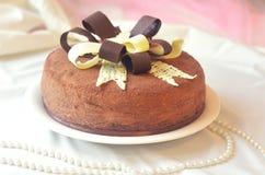 Słodka i smakowita teraźniejszość dla urodziny Zdjęcie Stock