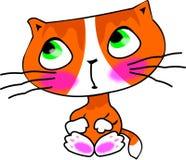 słodka kociak trochę Obraz Stock