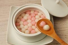 Słodka ryżowa piłka Zdjęcia Royalty Free