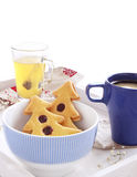 Słodki śniadanie zdjęcie royalty free