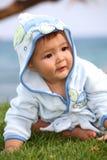 słodki chłopiec szczęśliwy Obrazy Royalty Free