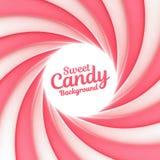 Słodki cukierku tło z miejscem dla twój zawartości Fotografia Stock