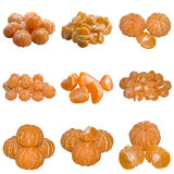 Słodki dojrzały Tangerine. Zdjęcia Royalty Free