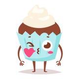 Słodki emocja wektoru charakter ilustracji