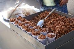 Słodki gorący arachidu ciasteczko Zdjęcia Stock