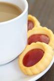 Słodki truskawkowy dżem Fotografia Stock