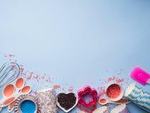 Słodki wypiekowy pojęcie Dziewczęcy styl Obraz Stock