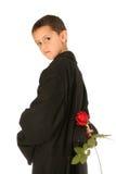 słodkich różani młodych ludzi Obraz Royalty Free