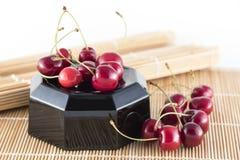 Słodkich wiśni grupa Zdjęcia Stock