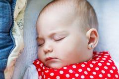 słodkie dziecko śpi Obraz Royalty Free