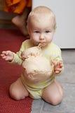słodkie dziecko zdjęcie royalty free
