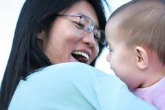 słodkie dziecko się uśmiecha Obrazy Stock
