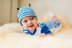 słodkie dziecko się uśmiecha Zdjęcie Stock