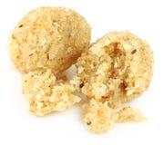 Słodkie kokosowe piłki Zdjęcia Stock