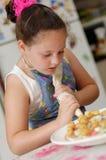 słodkie kucharzy young zdjęcie royalty free