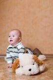 słodkie małe dziecko Obraz Royalty Free