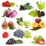 Słodkie owoc ustawiać Fotografia Royalty Free