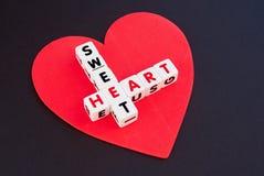 słodkie serce Zdjęcie Royalty Free