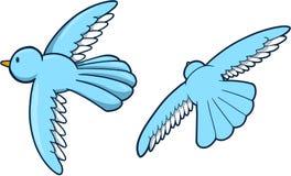 słodkie wektora ptaka ilustracja wektor
