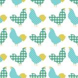 Słodkiego kurczaka bezszwowy wzór Obraz Stock