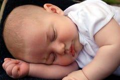 słodko śpi dziecko Zdjęcia Royalty Free