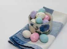 Słodujący Dojni jajka Zdjęcia Royalty Free
