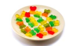 słodycze, owoce obraz royalty free