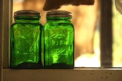 słoik szkła Obrazy Stock