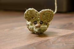 Słomiana mysz zdjęcia stock