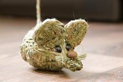 Słomiana mysz obraz royalty free