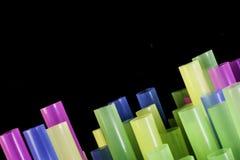 Słomiane końcówki Makro- Fotografia Stock