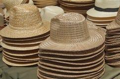 Słomiani kapelusze Zdjęcie Stock