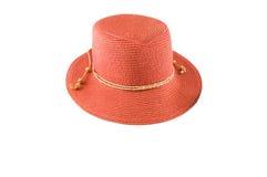Słomiany kapelusz Zdjęcia Stock
