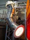 Słoneczna drymby drymba dla przemysłowych budynków Fotografia Stock