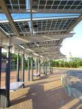 słoneczna panel władza Obrazy Stock