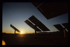 Słoneczna 2 Południowy Kalifornia Edison energii słonecznej roślina Zdjęcia Stock