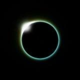 słoneczna zaćmienie księżyc Fotografia Royalty Free
