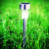 Słoneczna zasilana lampa Fotografia Royalty Free