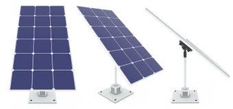 Słoneczne baterie Obrazy Stock