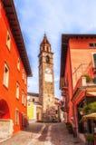 Słoneczny dzień w Ascona Szwajcaria Obrazy Royalty Free