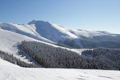 Słoneczny dzień w górach! obraz royalty free