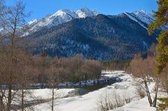 Kaukaz góry Zdjęcie Royalty Free