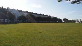 Słoneczny dzień w PortSmouth schronieniu Anglia Zjednoczone Królestwo Fotografia Royalty Free