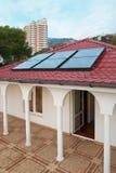 słoneczny geliosystem panel zdjęcia stock