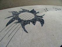 słoneczny południk Zdjęcie Royalty Free